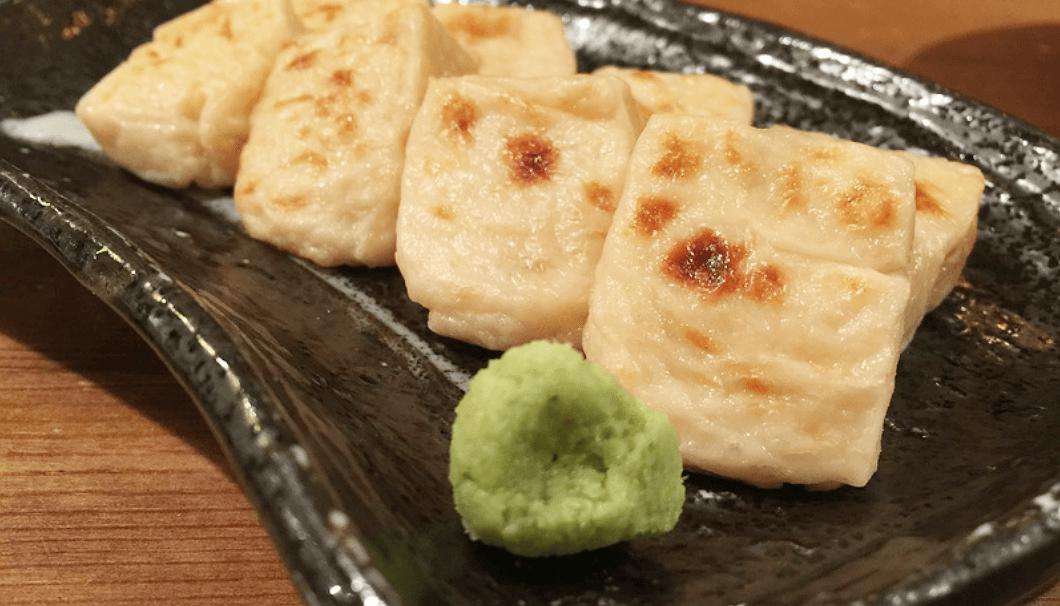 「彩膳ちくら」の焼きごま豆腐