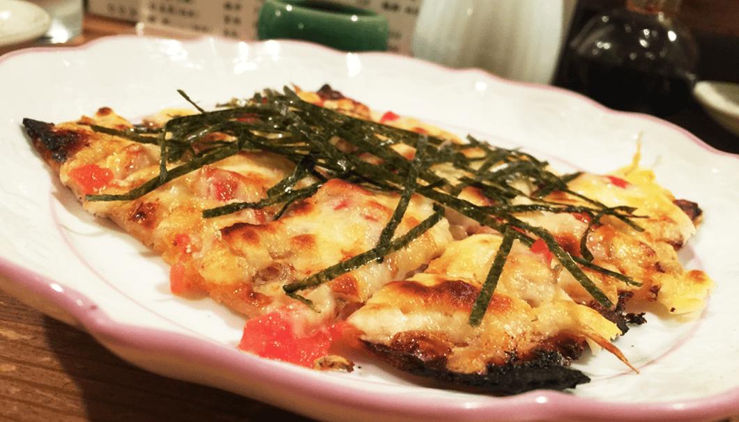 「彩膳ちくら」の酒粕チーズ焼き