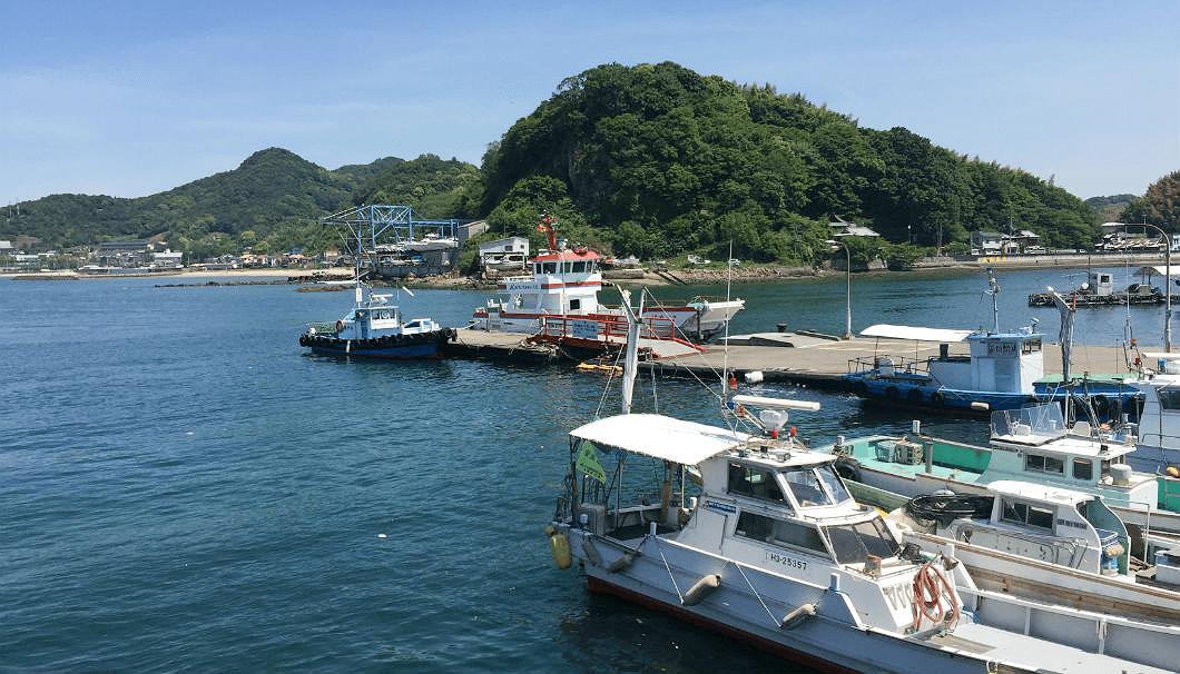 海釣りの風景
