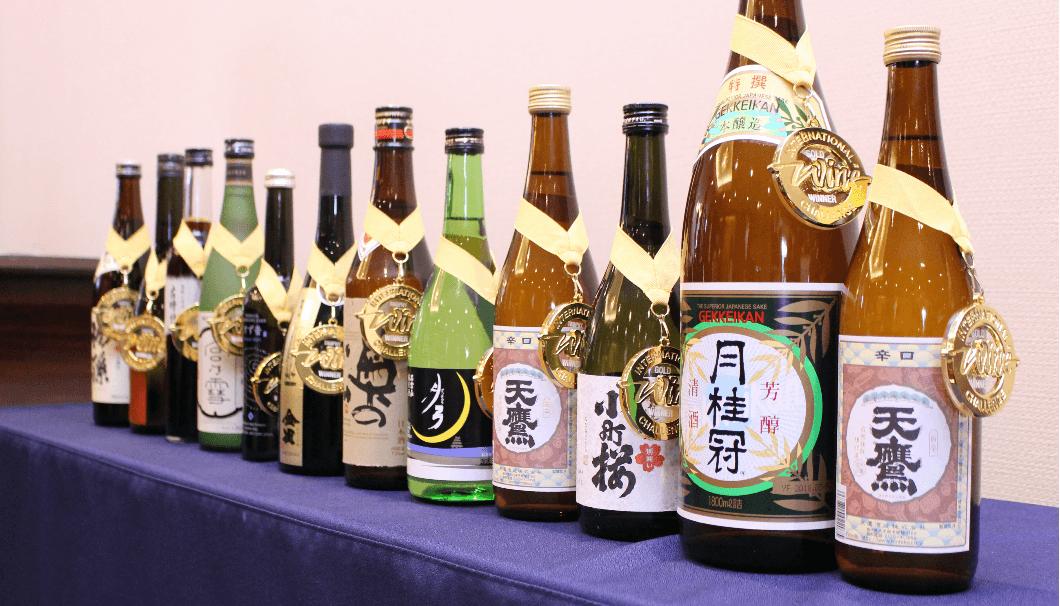 IWC2018でトロフィーを受賞した酒たち