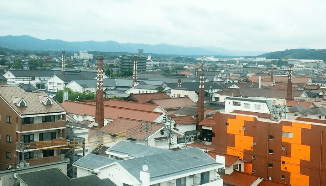 平成29酒造年度全国新酒鑑評会の行われた東広島市の風景