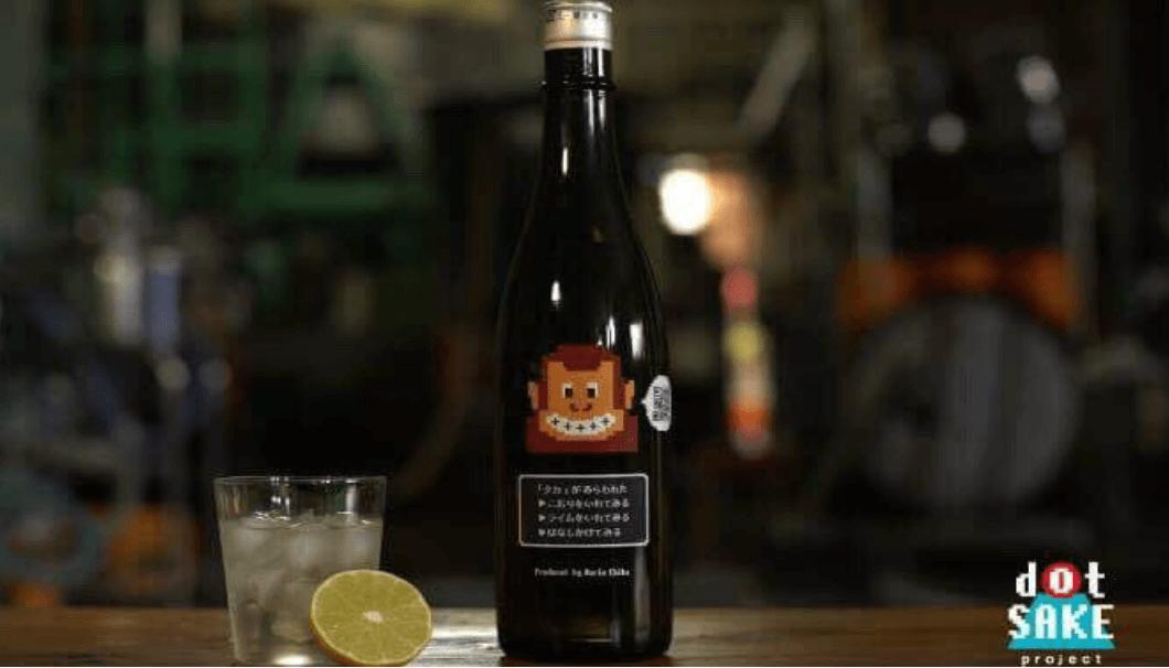 千葉麻理恵さんが立ち上げたdotsakeprojectの第一弾日本酒