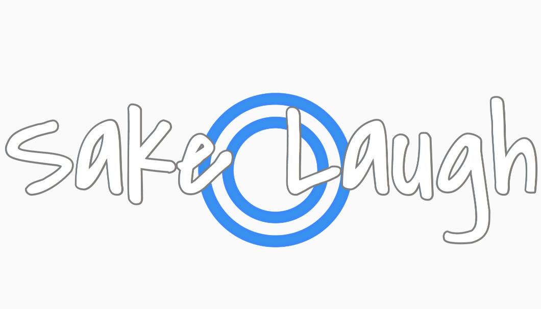 「SAKE LAUGH」のロゴ画像