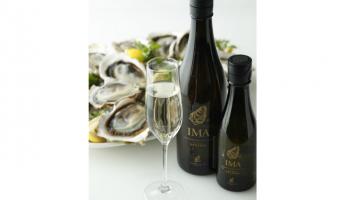 オイスター専用日本酒「IMA」と牡蠣