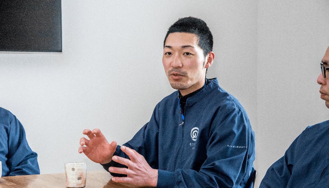 農口尚彦研究所の蔵人 山崎さん