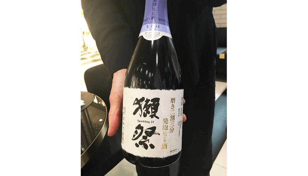 「獺祭 純米大吟醸 スパークリング50」