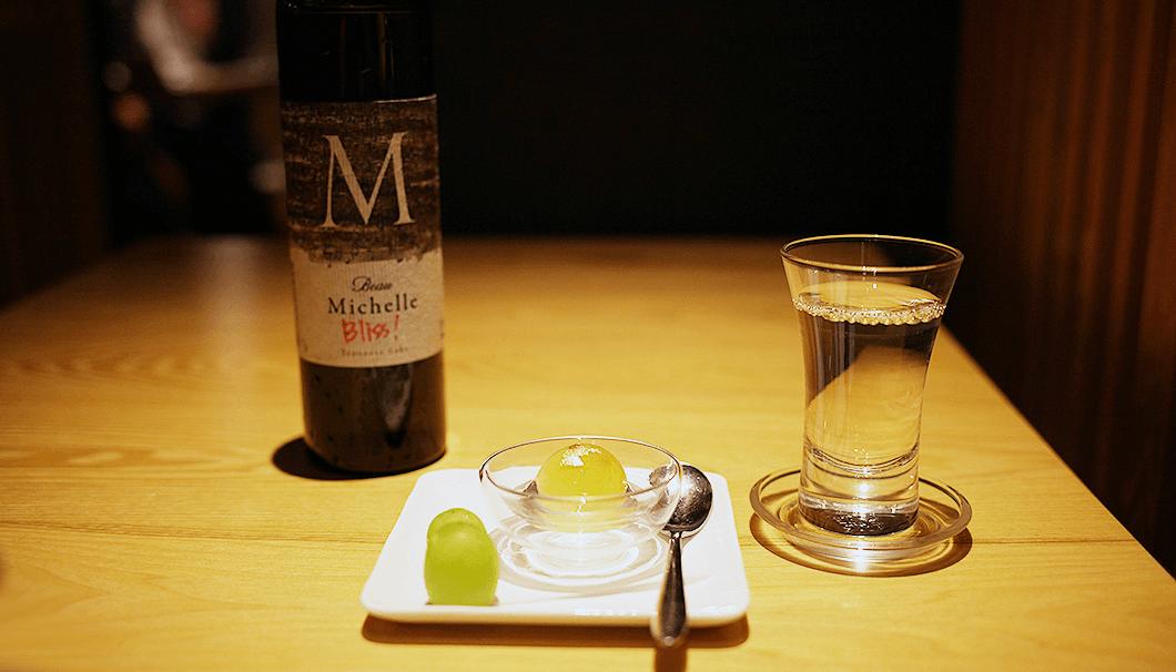 LDH Kitchenと伴野酒造のコラボイベントで提供されたBeau Michelle