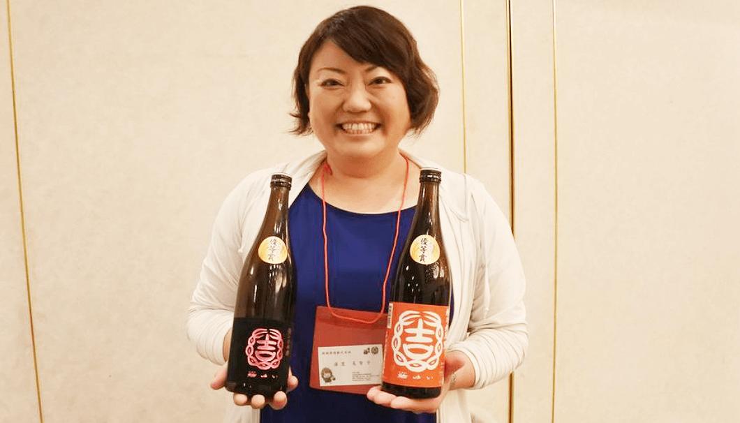 結城酒造・蔵元杜氏の浦里美智子さん