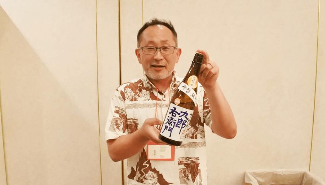 湯川酒造店・蔵元杜氏の湯川慎一さん