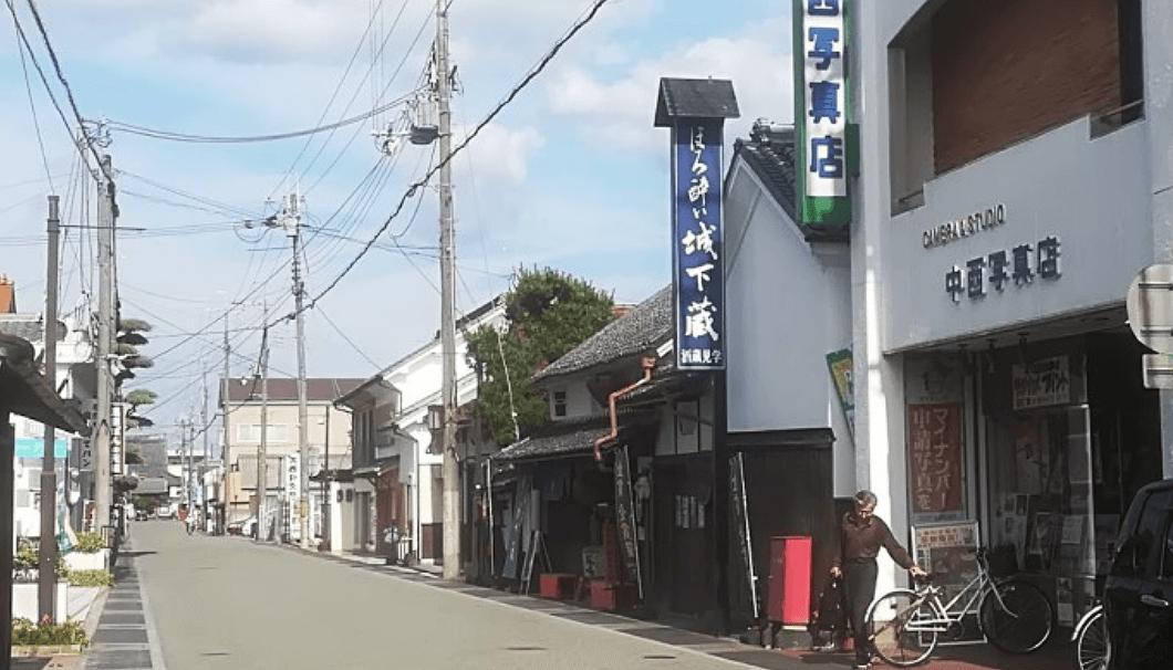 鳳鳴酒造の直売店「ほろ酔い城下蔵」