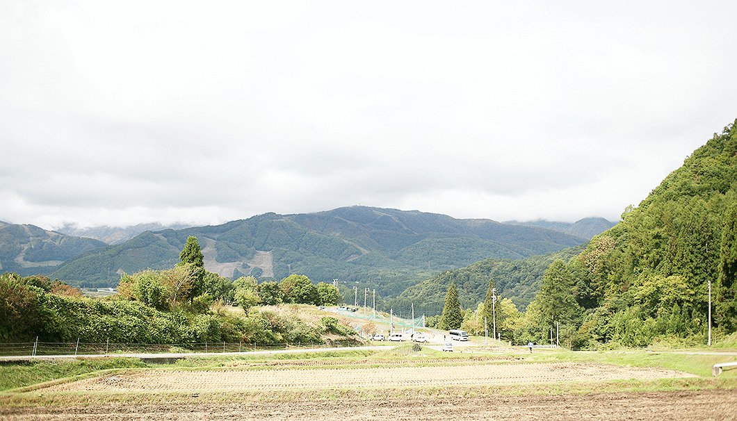 長野県・八方尾根の風景