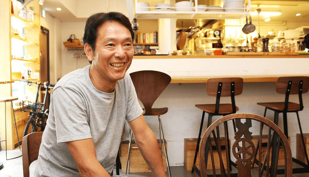 「イレール人形町」の島田哲也シェフ