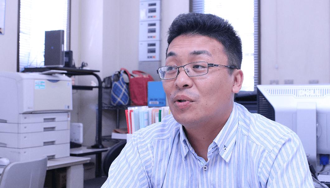 竹内酒造の代表取締役・武石恭芳(たけいし・やすよし)社長