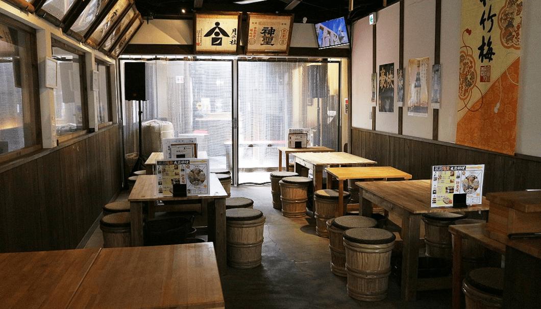 「伏水酒蔵小路」のイベントスペース「蔵庭」