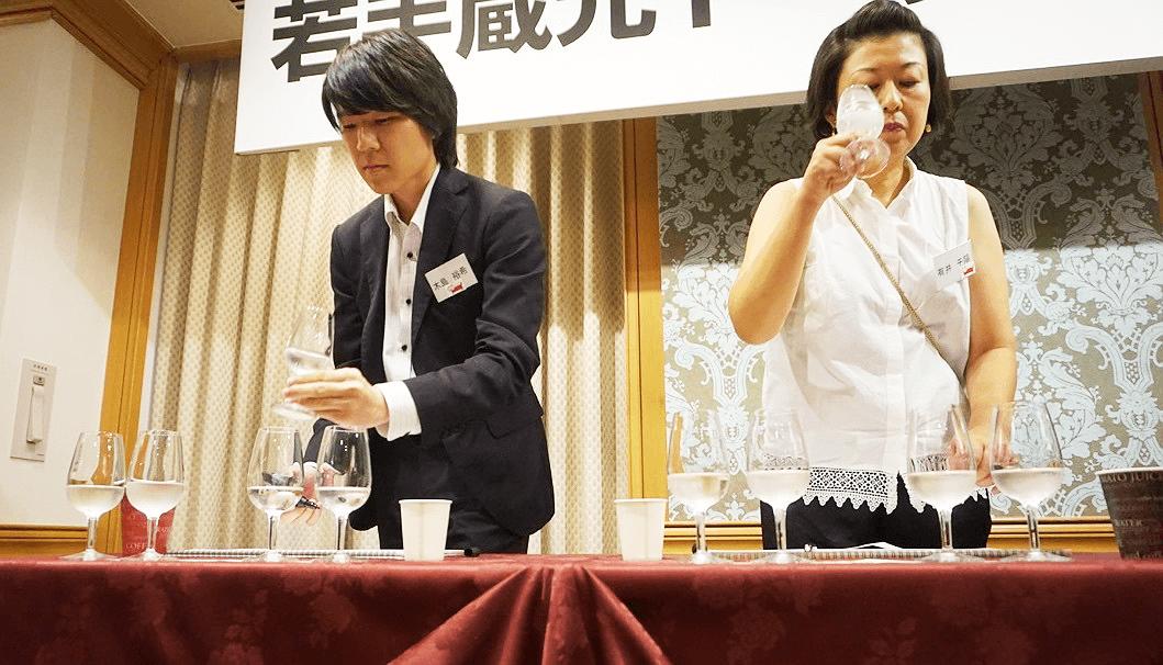 第3回インフィニット杯きき酒選手権の様子