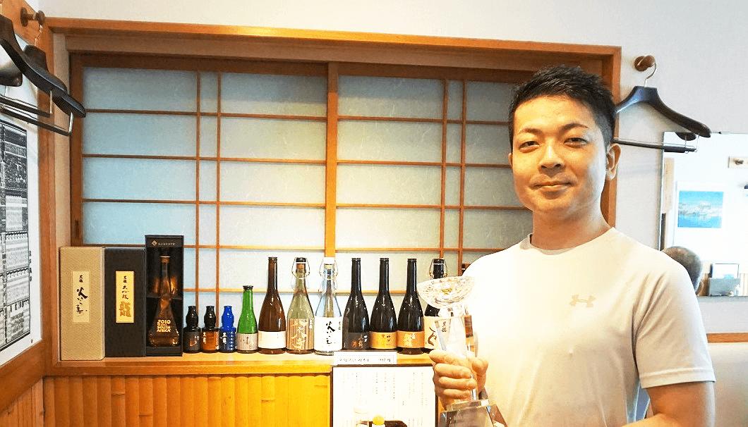 インフィニット杯きき酒選手権 第1回チャンピオンの手塚晶之さん