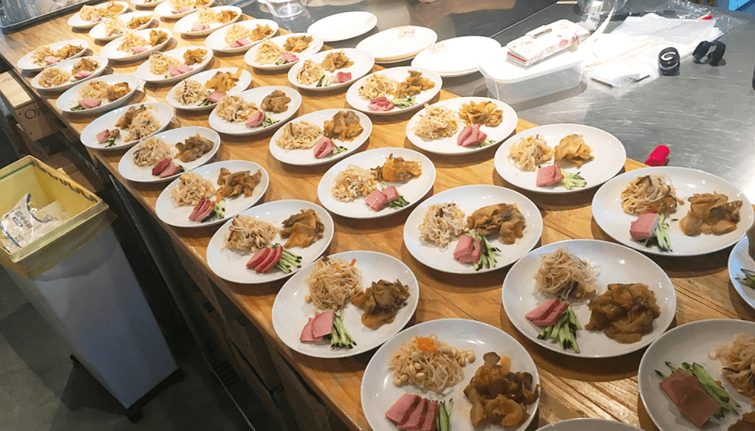「餃子を作って日本酒を飲もう!!の会」のおつまみ
