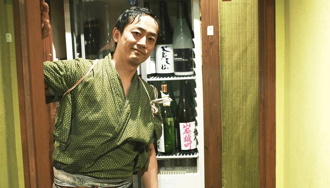 「SAKE story」店主の橋野元樹さん