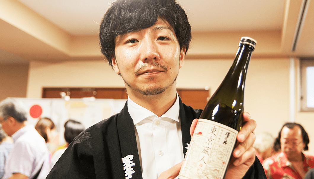 小澤酒造の「東京蔵人 純米吟醸 生酛造り」