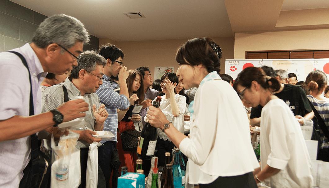 「大江戸 東京 粋な酒祭り」の会場の様子