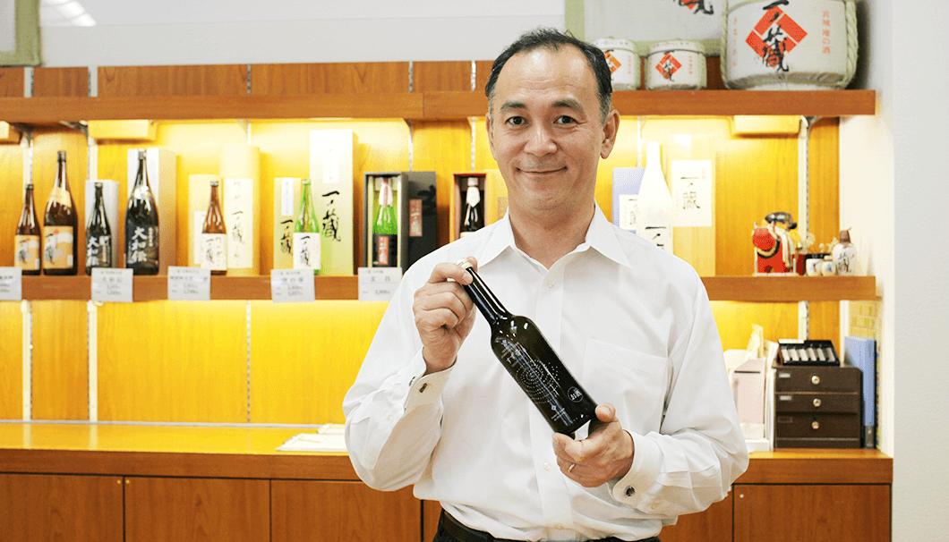 「すず音は、まるでビールのようなお酒です」と鈴木社長は言います。