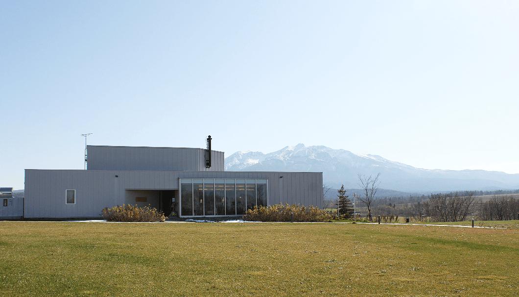上川大雪酒造 緑丘蔵の全景