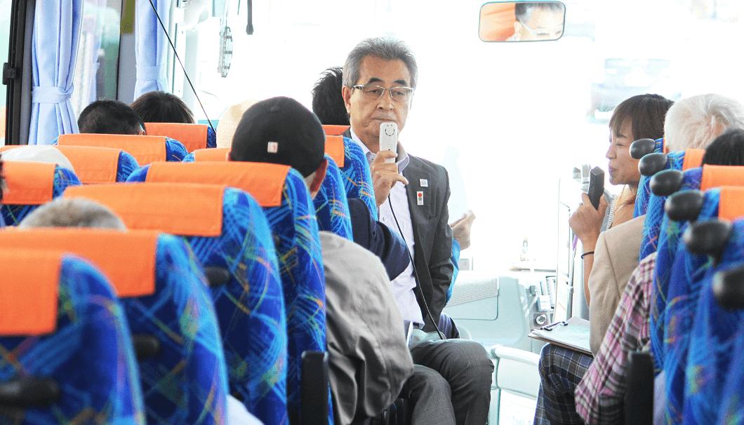 上川町の魅力を語る佐藤町長