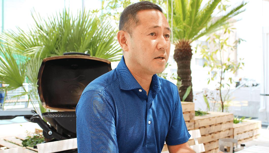 「THE BBQ BEACH」のプロデュースを手掛ける株式会社デジサーフの代表取締役 高橋佳伸さん