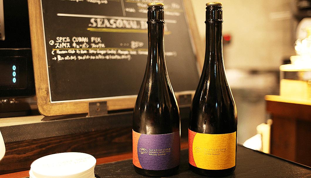 シェリー樽熟成とウイスキー樽熟成、2種類の梅酒