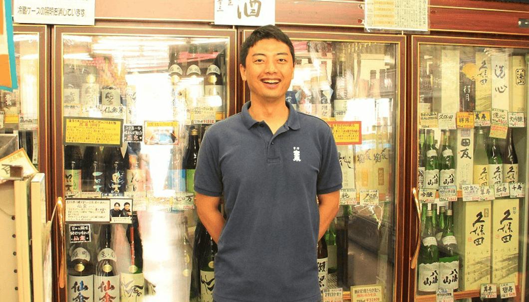 東京・大井町「おいしい地酒とワインの店 ワダヤ」の4代目店主の和田兼一さん