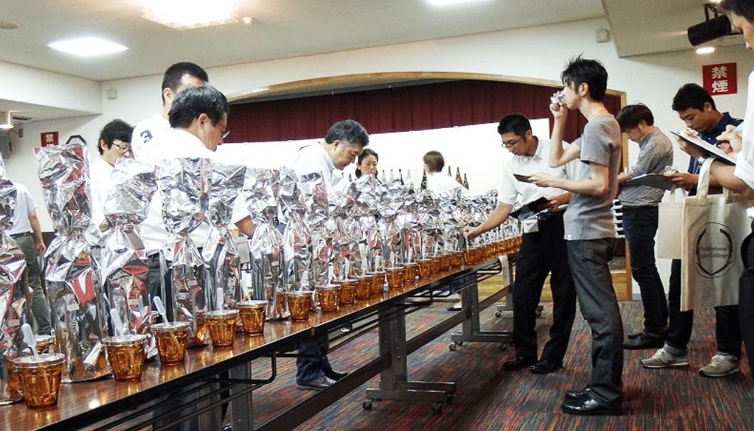「Professional Sake College2018」のブラインドテイスティング