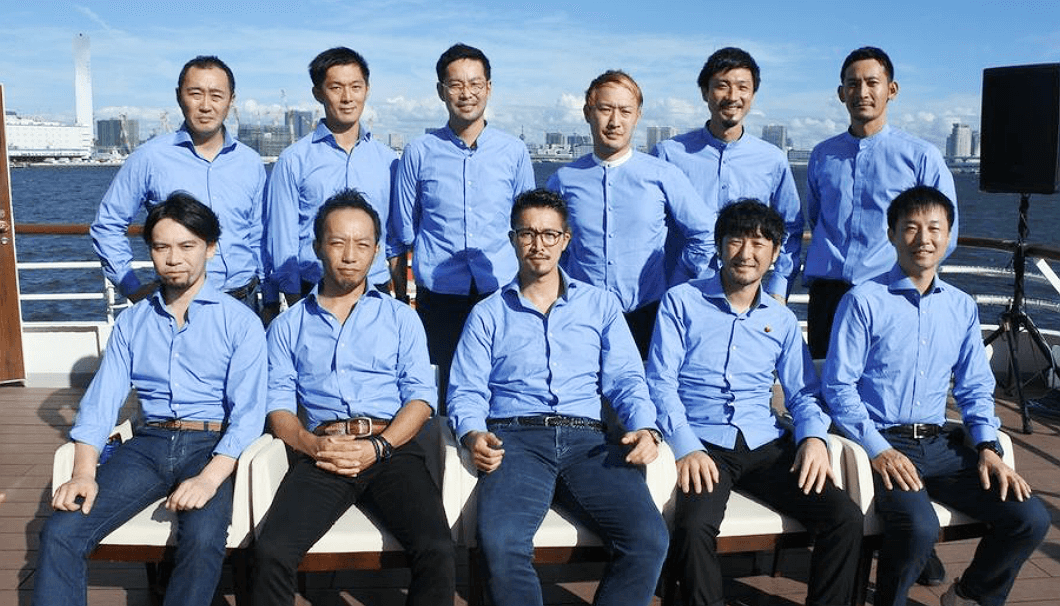「TOKYO SAKE CRUISE」を企画した「日本酒オーシャンズ」のメンバー