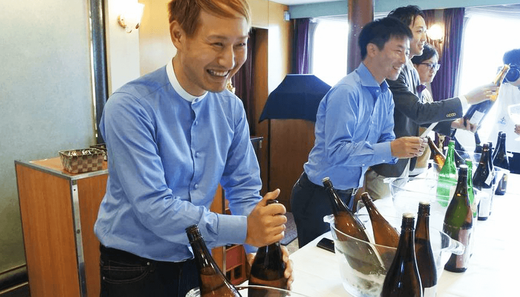 「TOKYO SAKE CRUISE」で日本酒を提供する蔵元たち
