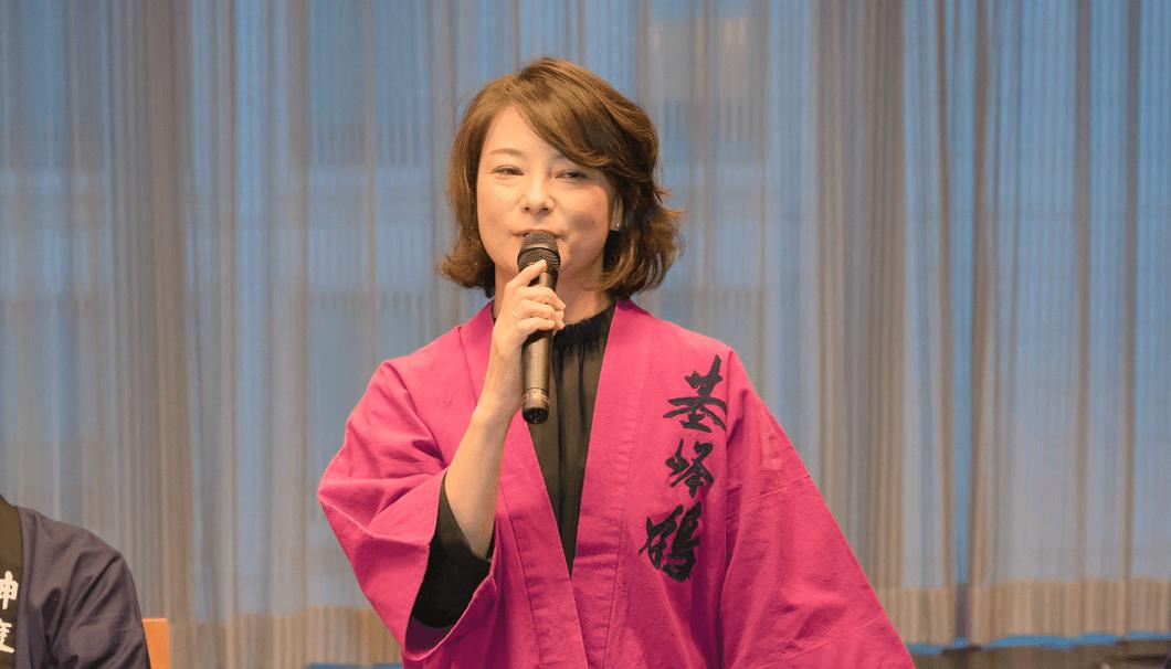 小森綾子さん(2代目・小森純一代表取締役社長夫人)