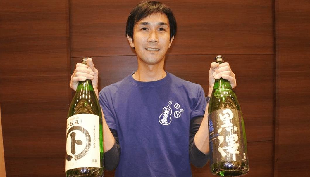 黒澤酒造杜氏の黒澤洋平さん