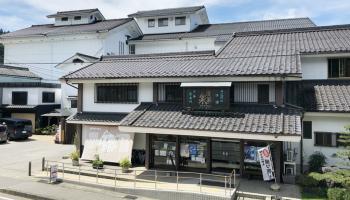 関谷酒造の直売所と蔵