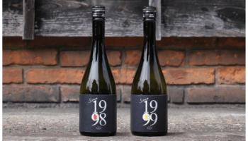 ヴィンテージ日本酒「since(シンス)」のボトルが並んでいる写真