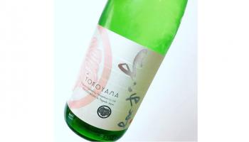 """壱岐島での日本酒造りを28年ぶりに復活させて造られた日本酒""""よこやま""""シリーズのラベル"""