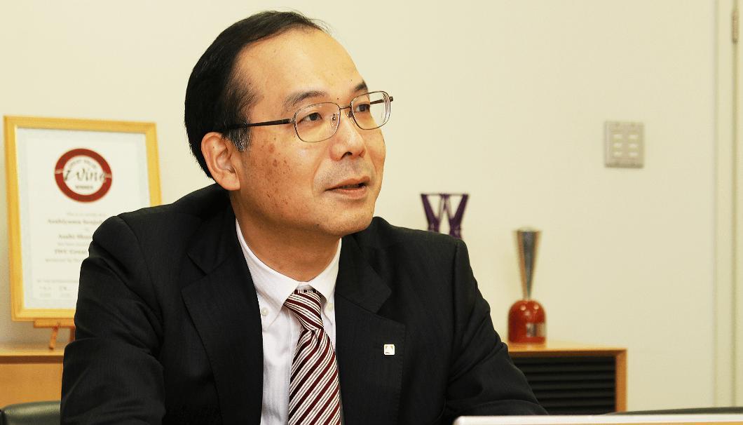朝日酒造取締役社長の細田康さん