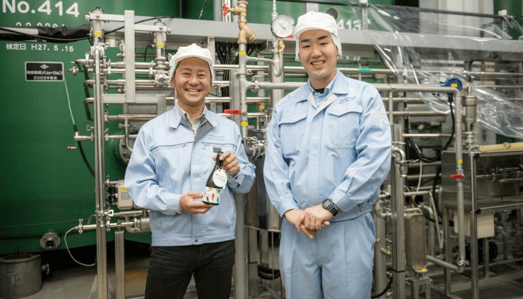 白瀧酒造の松本杜氏と○○さん