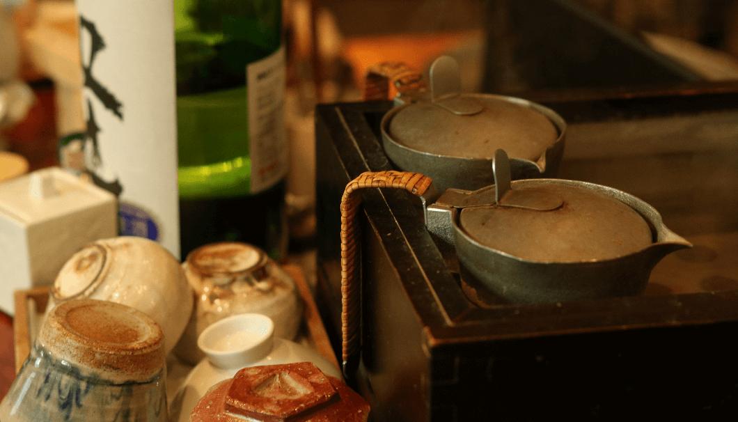 熱燗 燗酒の写真