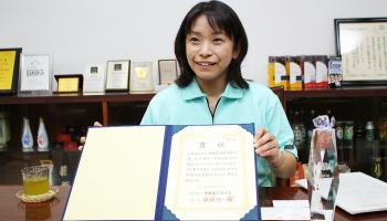 月桂冠総合研究所の主任研究員である堤浩子さん