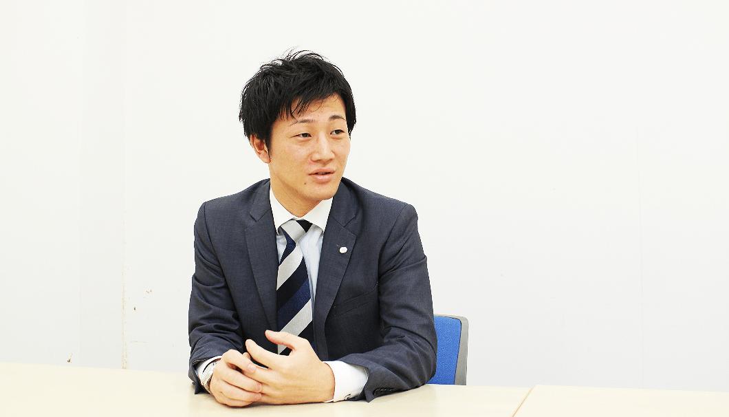 商品開発本部の佐田直隆さん