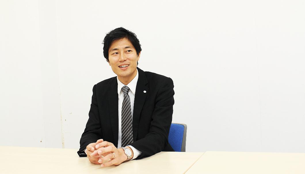 総務人事部 広報室の大岡和広さん
