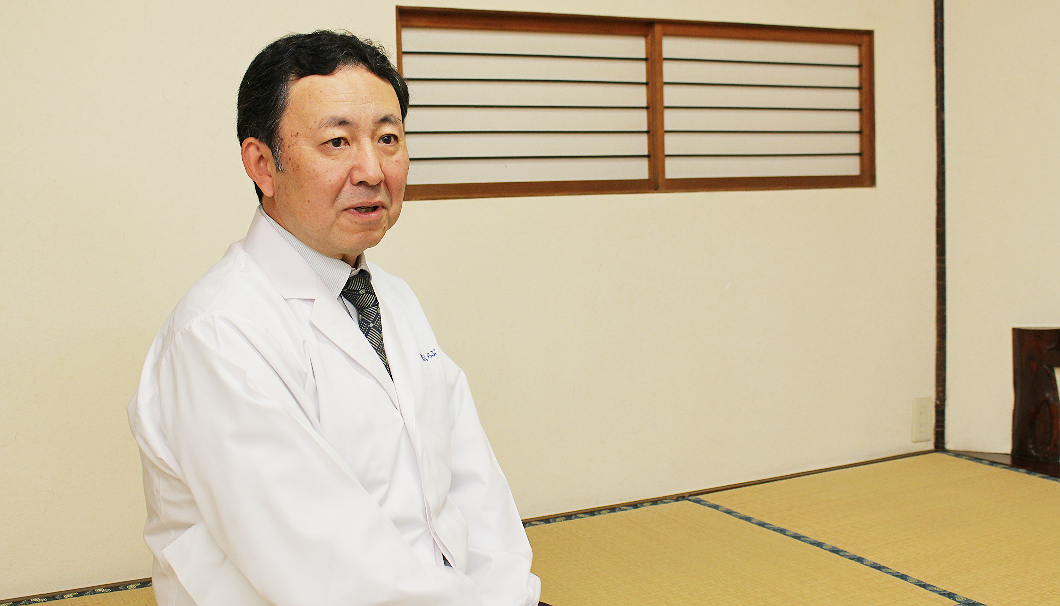 老舗料亭「北秋くらぶ」の五代目の石川博司さん