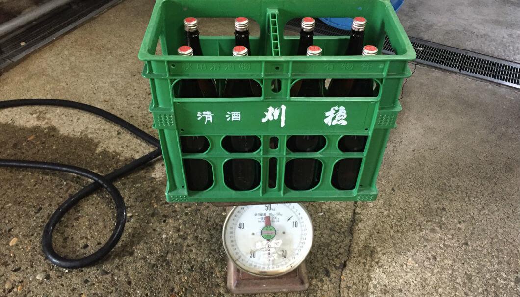 P箱(緑)の写真