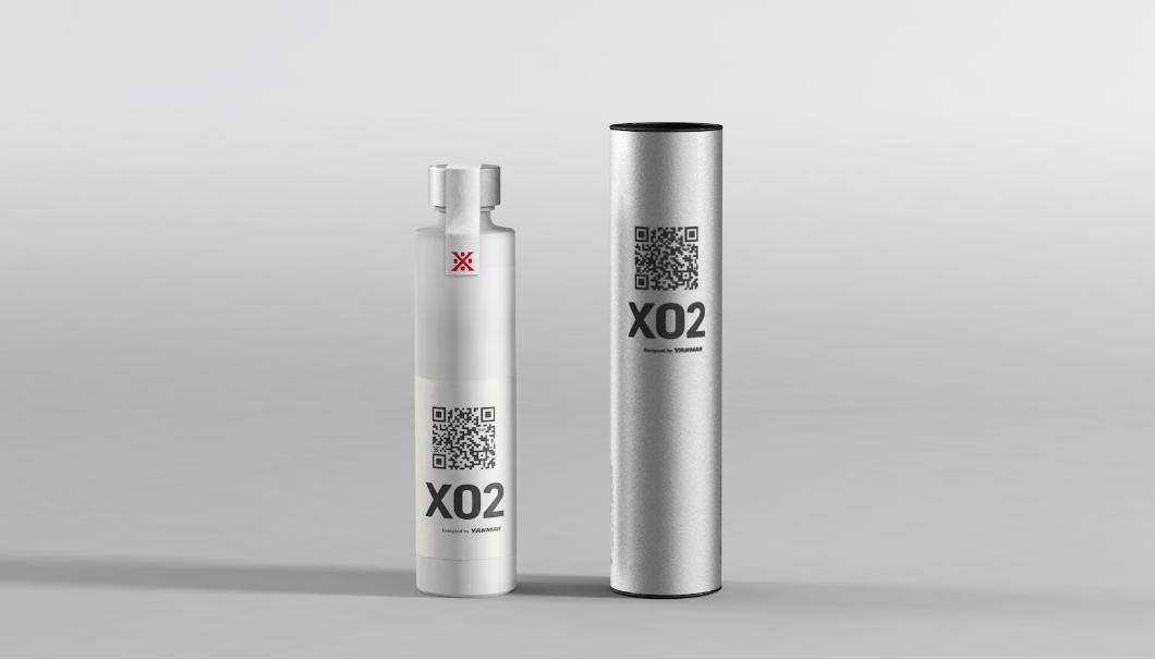 沢の鶴「X02」のボトル