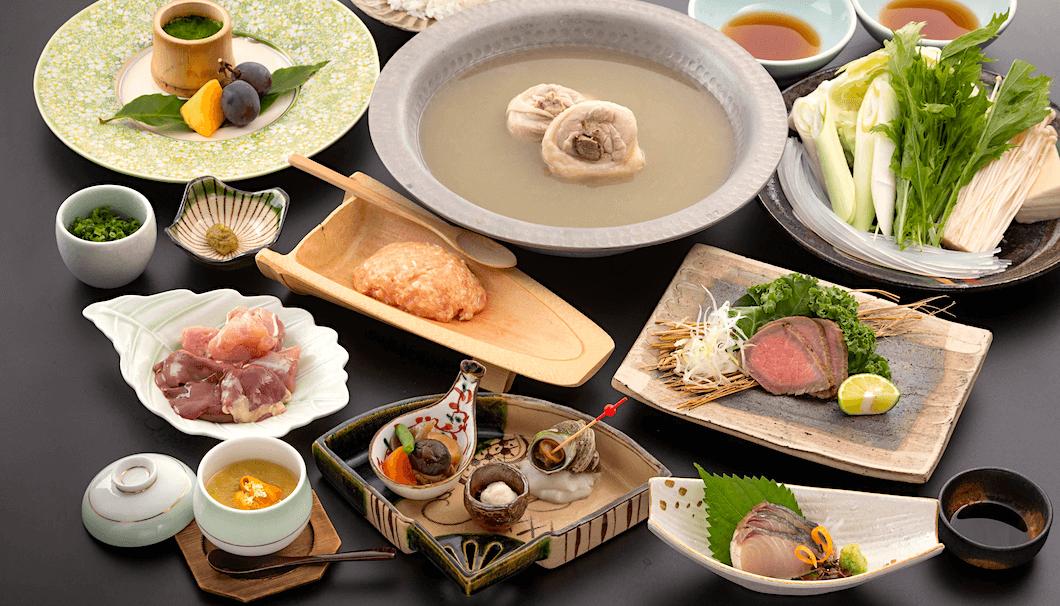 「半蔵門で福岡の日本酒と食を愉しむ夜会」で提供される料理のイメージ画像