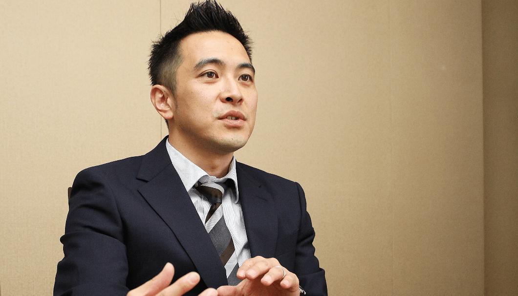 月桂冠の企画宣伝課の山中寛之さん