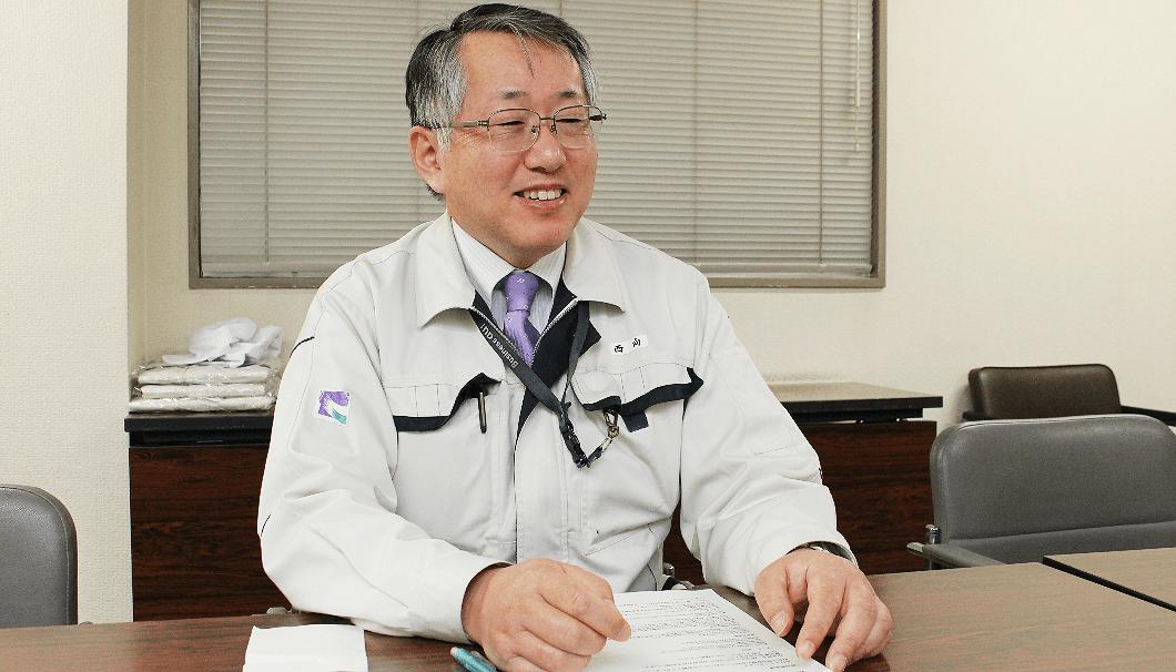 沢の鶴の取締役・製造部部長兼総杜氏代行の西向賞雄さん